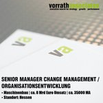 Image for the Tweet beginning: We're HIRING!   Senior Manager Change