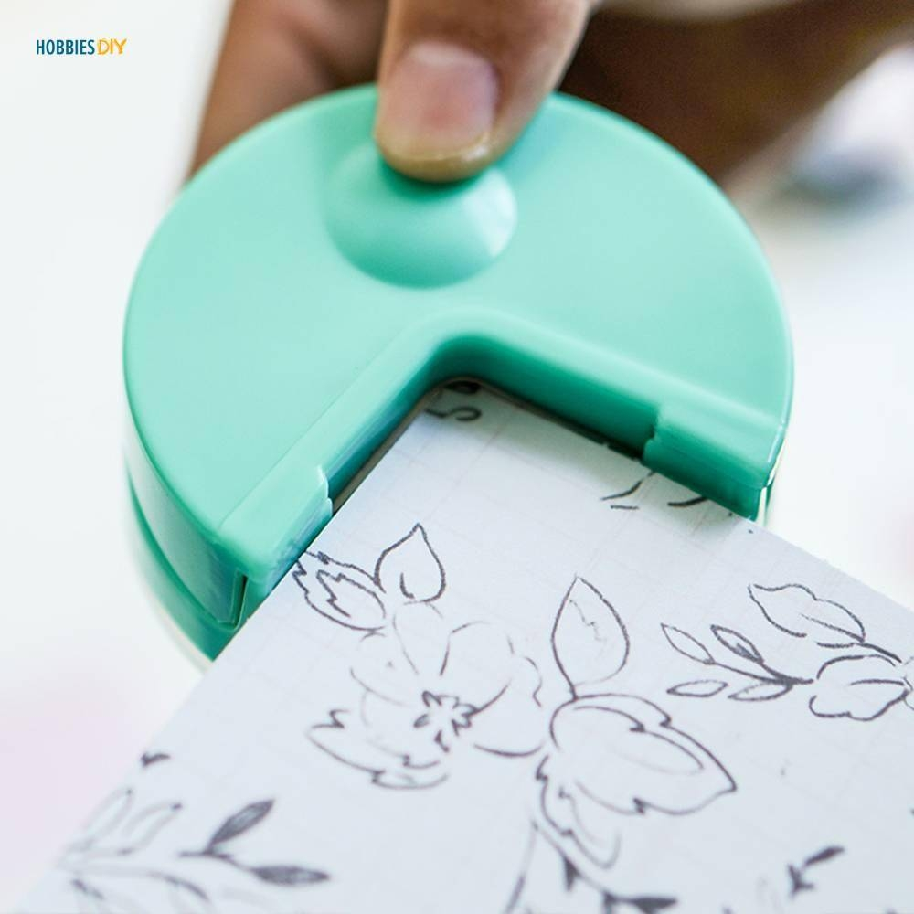 Round Corner Paper Punch for Scrapbooking #beautiful #happy