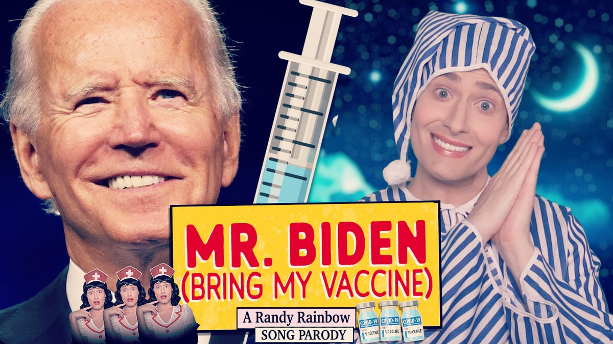 One year in quarantine got me like...  #MrBiden #BringMyVaccine 🎶💉🙏🏻 https://t.co/QKYaEhhtay