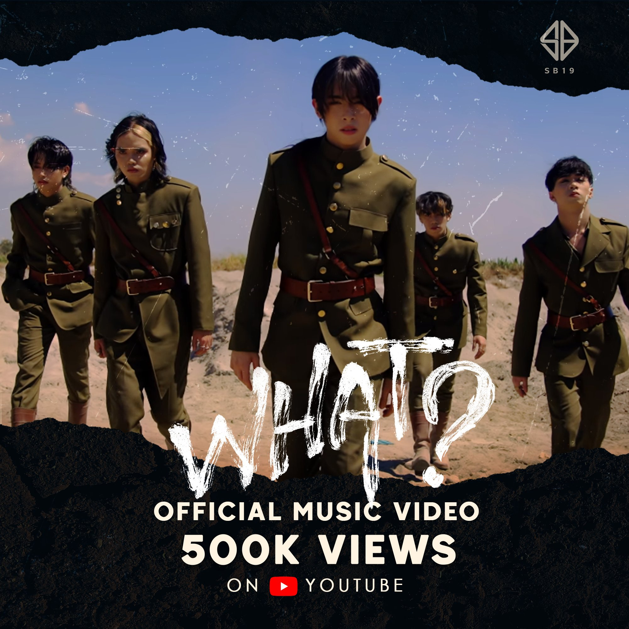 "LOOK: SB19 ""What?"" MV hits 1 million in less than 24 hours"