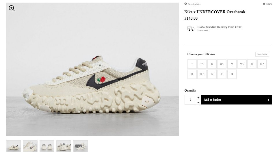 Ad: The Nike x Undercover Overbreak
