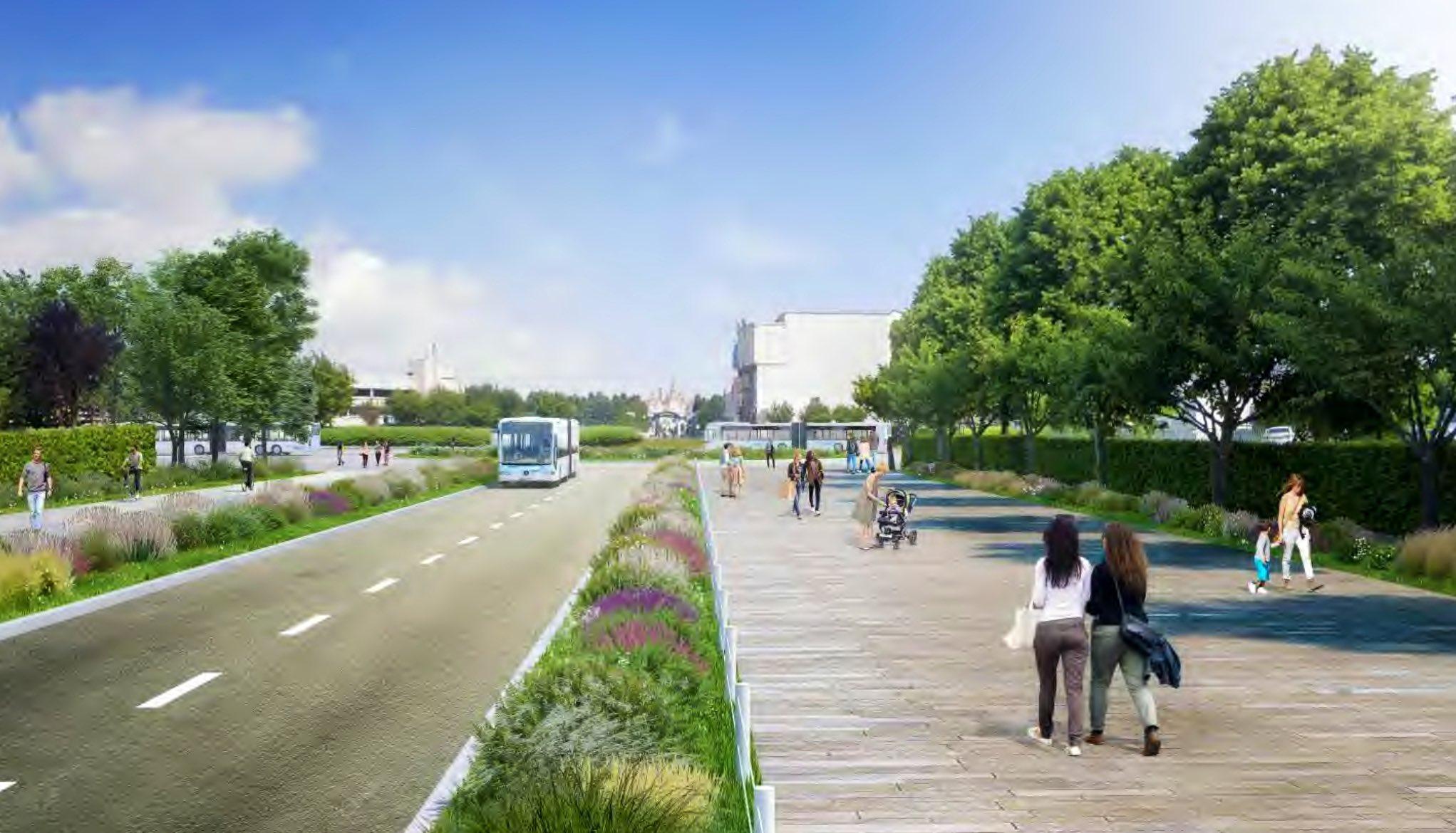 Esplanade : Nouvel Aménagement entre les Parcs, la Gare et DV - Page 29 EwDnIbFXMAYsIBS?format=jpg&name=large