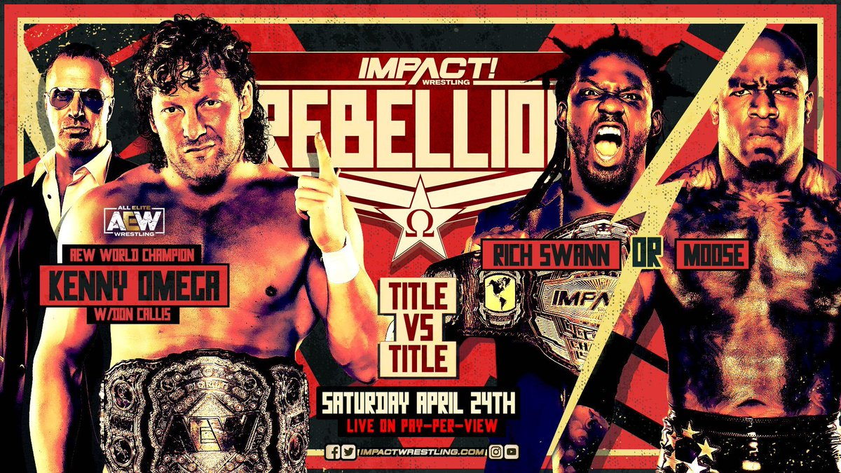 Kenny Omega Announced For Title Vs. Title Match At Impact Rebellion