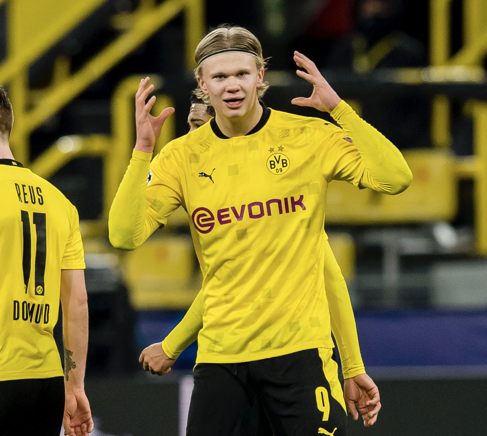Penyerang Dortmund, Erling Braut Haaland