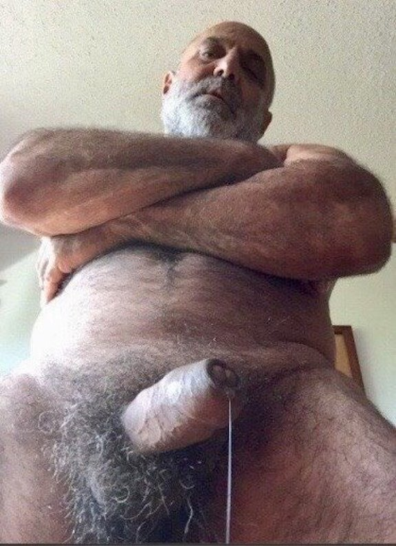 Old Bear Daddy Cock