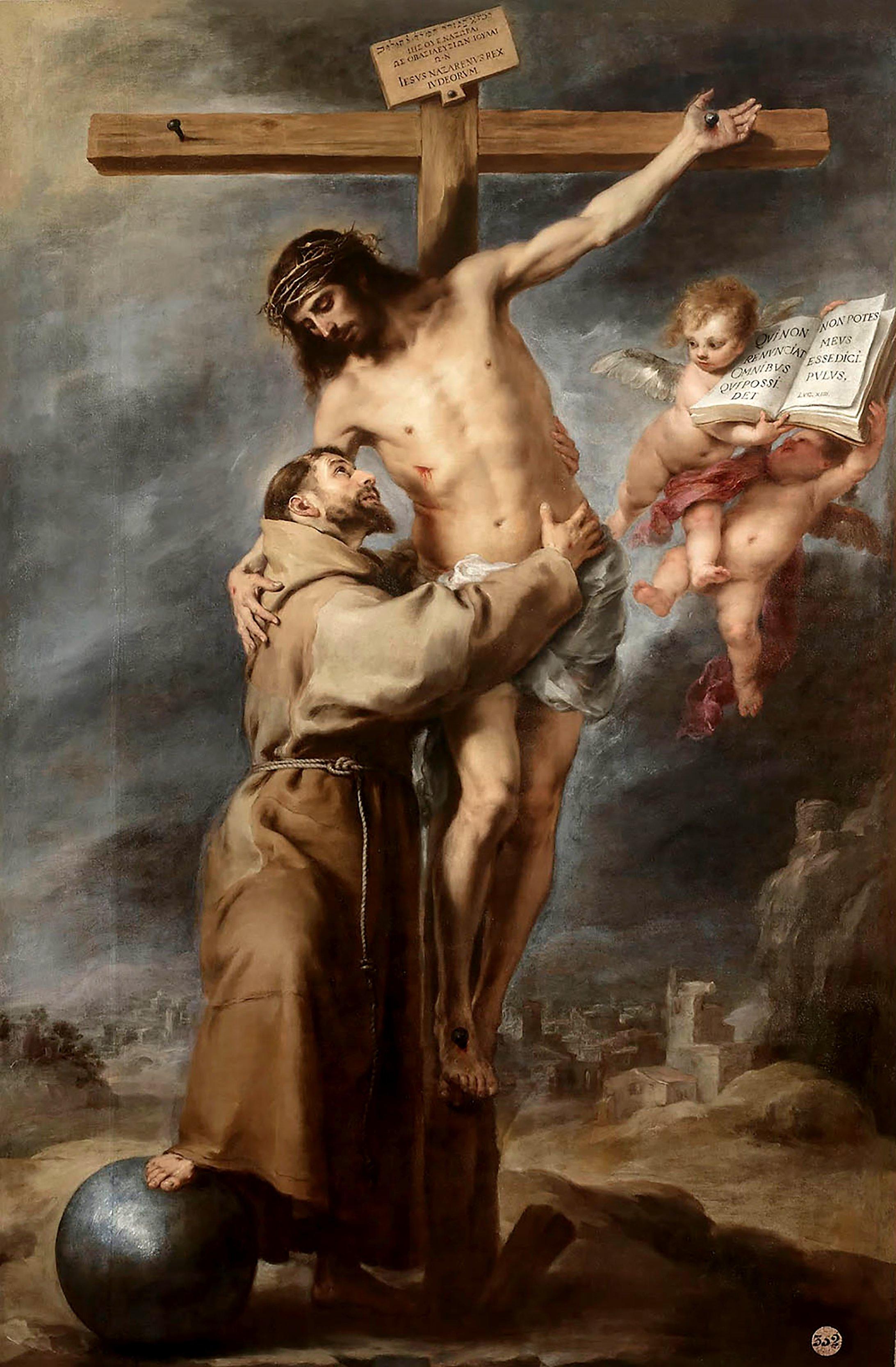 São Francisco de Assis e Jesus Cristo