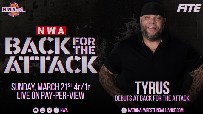 Tyrus To Appear At NWA Back For The Attack