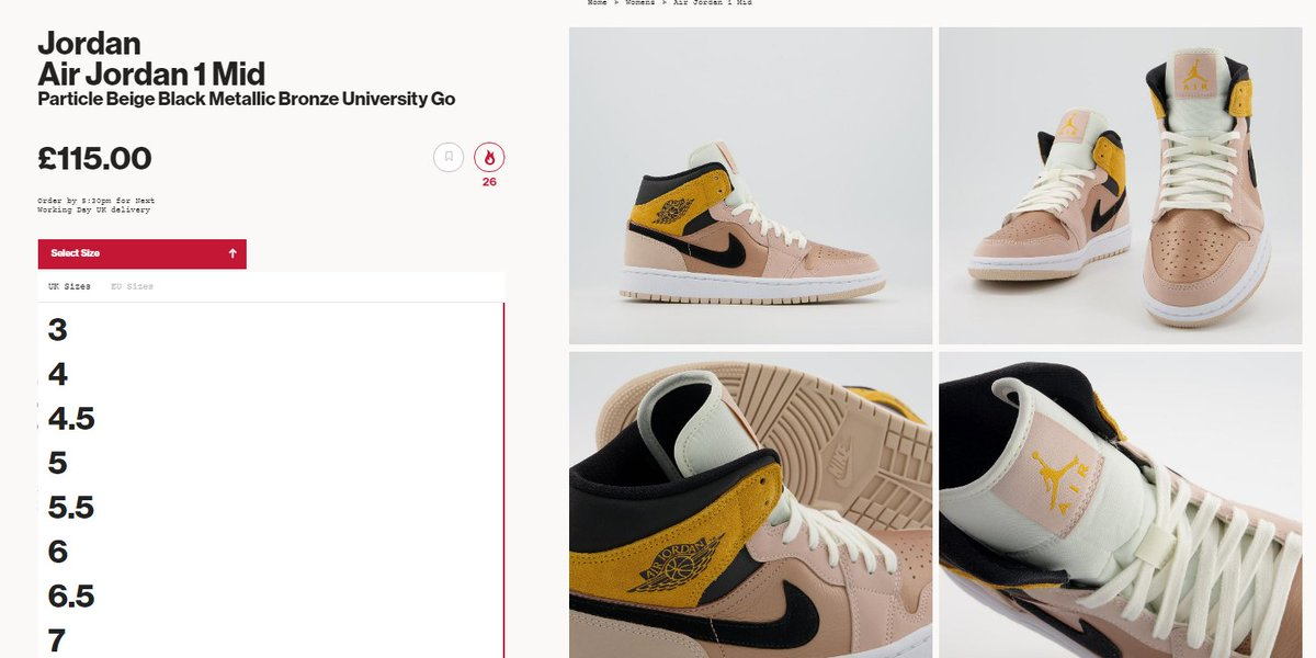 LIVE via Offspring: Air Jordan 1 Mid