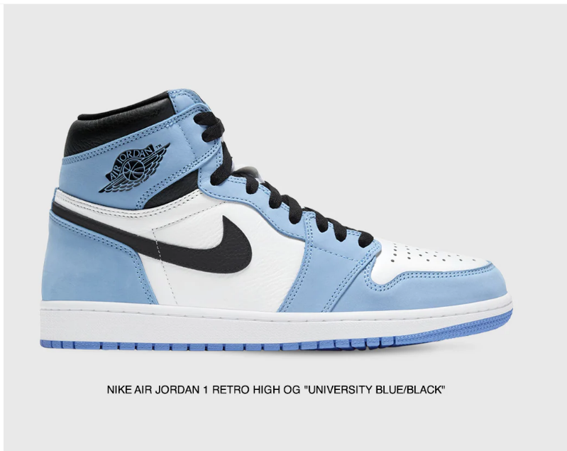 Ad: The LVR Sneakers Club raffle for the Air Jordan 1 Retro High OG