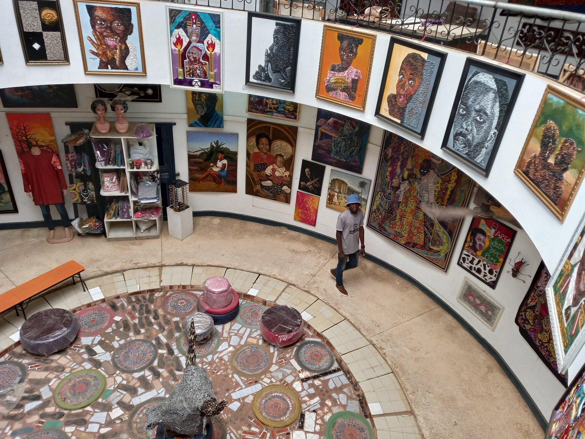 "Ayo of Ibadan on Twitter: ""Ibadan, Tunde Odunlade Art Gallery is here for  us. 🥂… """