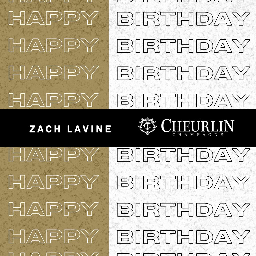 Join us and @Cheurlin1788 in wishing @ZachLaVine a happy birthday! 🍾 #Cheurlinmoments #Cheurlin1788 https://t.co/VfgM0ijxg9