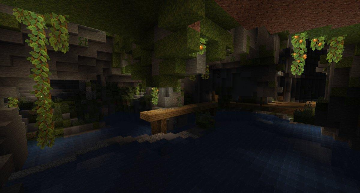 Minecraft Caves & Cliffs - Lush Biomes 03