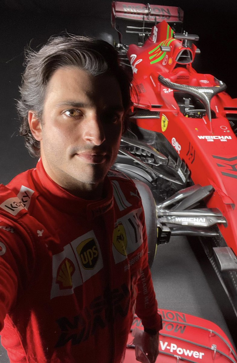 Carlos Sainz On Twitter And There It Is First Laps Tomorrow Sf21 Carlossainz