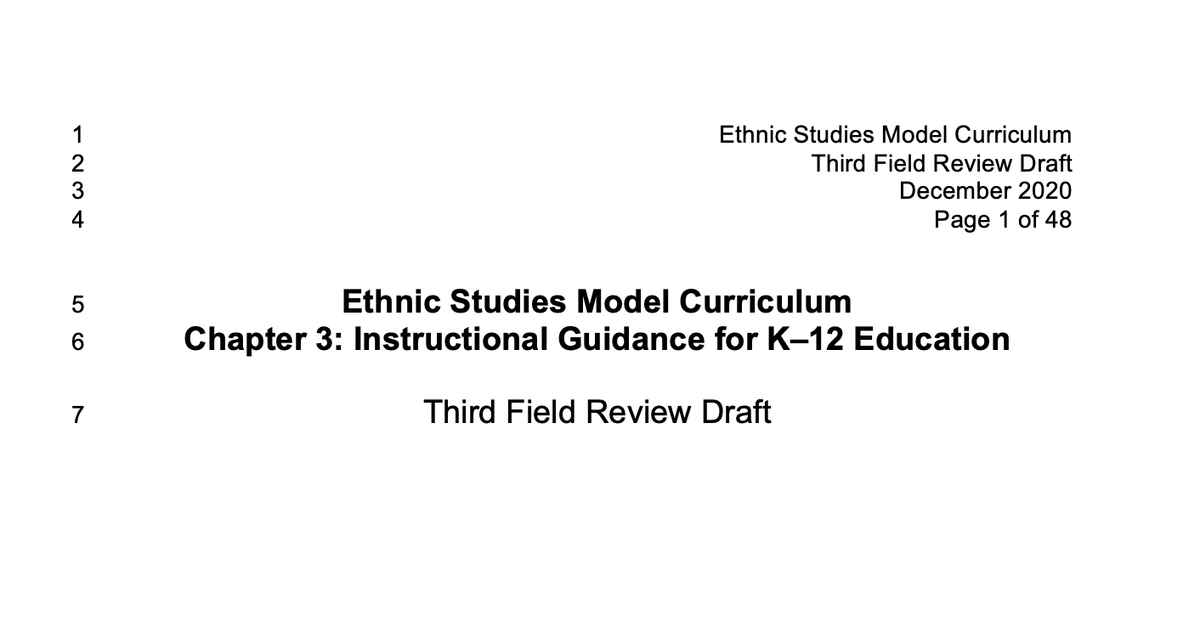 """SCOOP: California's proposed """"ethnic studies"""" curriculum calls for the """"decolonization"""" of American society and has students chant to the Aztec god of human sacrifice. The solution, according to one author, is a """"countergenocide"""" against white Christians.  Here's the story.🧵"""