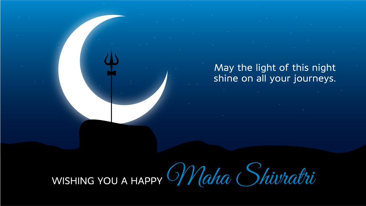 Heres to the night sky of Maha Shivratri that brings out the light in all of us. HappyMahaShivratri https t.co wyr73WpYZu