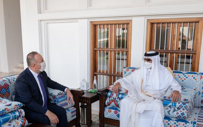 أمير قطر يستقبل وزير الخارجية التركي في الدوحة EwMb7URXMAAGyoU?format=jpg&name=small