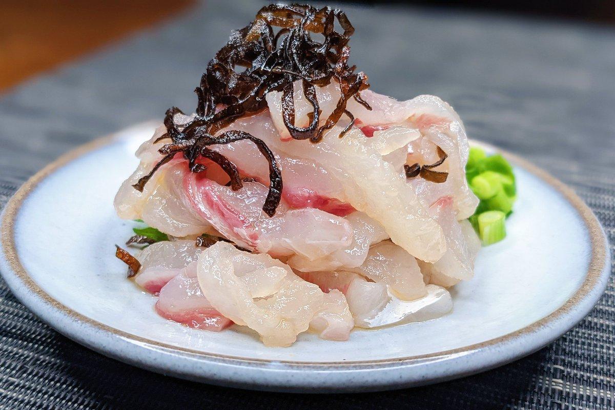 絶品で簡単料理!真鯛の塩こんぶ漬けのレシピ!