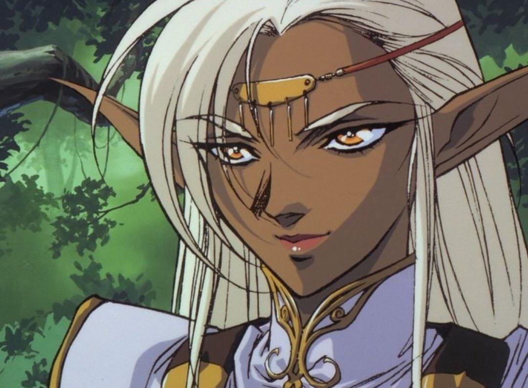 Replying to @Loudwindow: 80's/90's anime elves 😳