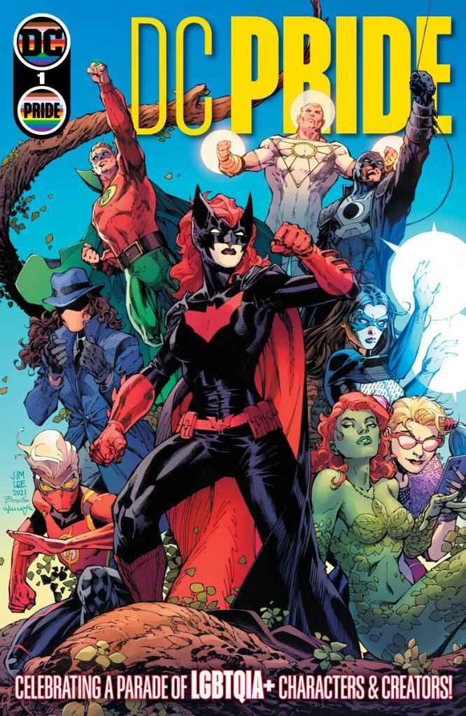 Uma das capas da revista DC Pride