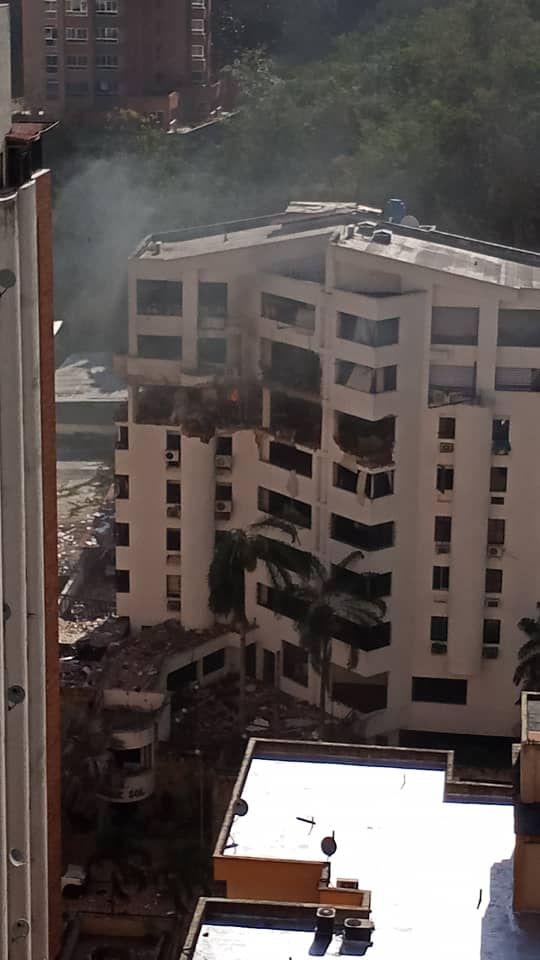 edificio, explosion, valencia, carabobo