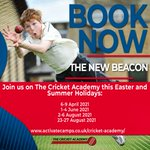 Join @ActivateCamps @thenewbeacon during the Easter and Summer holidays this year.  #cricket #holidaycamps