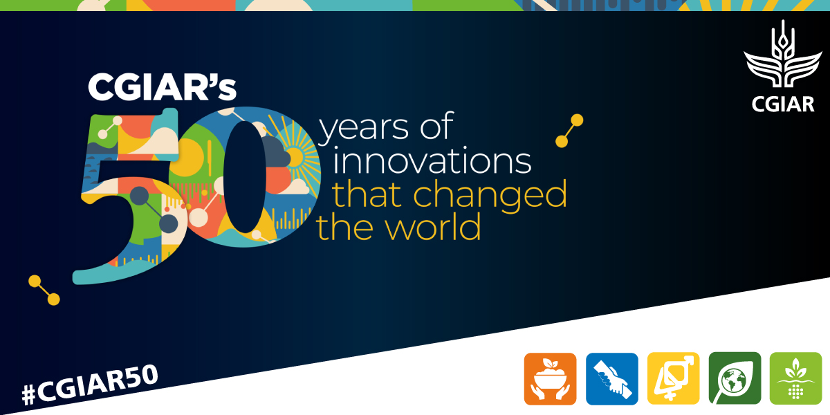 💡 From #climateadaptation to #genderequality, discover @CGIAR's 50 years of innovations that changed the world 🌎 🎉:   #OneCGIAR #CGIAR50 @CGIARgender