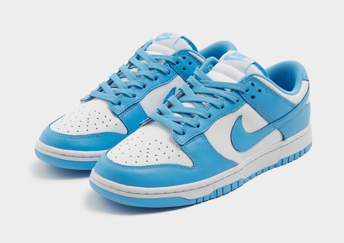 """Official images of the Nike Dunk Low Retro """"University Blue"""" (DD1391-102)"""