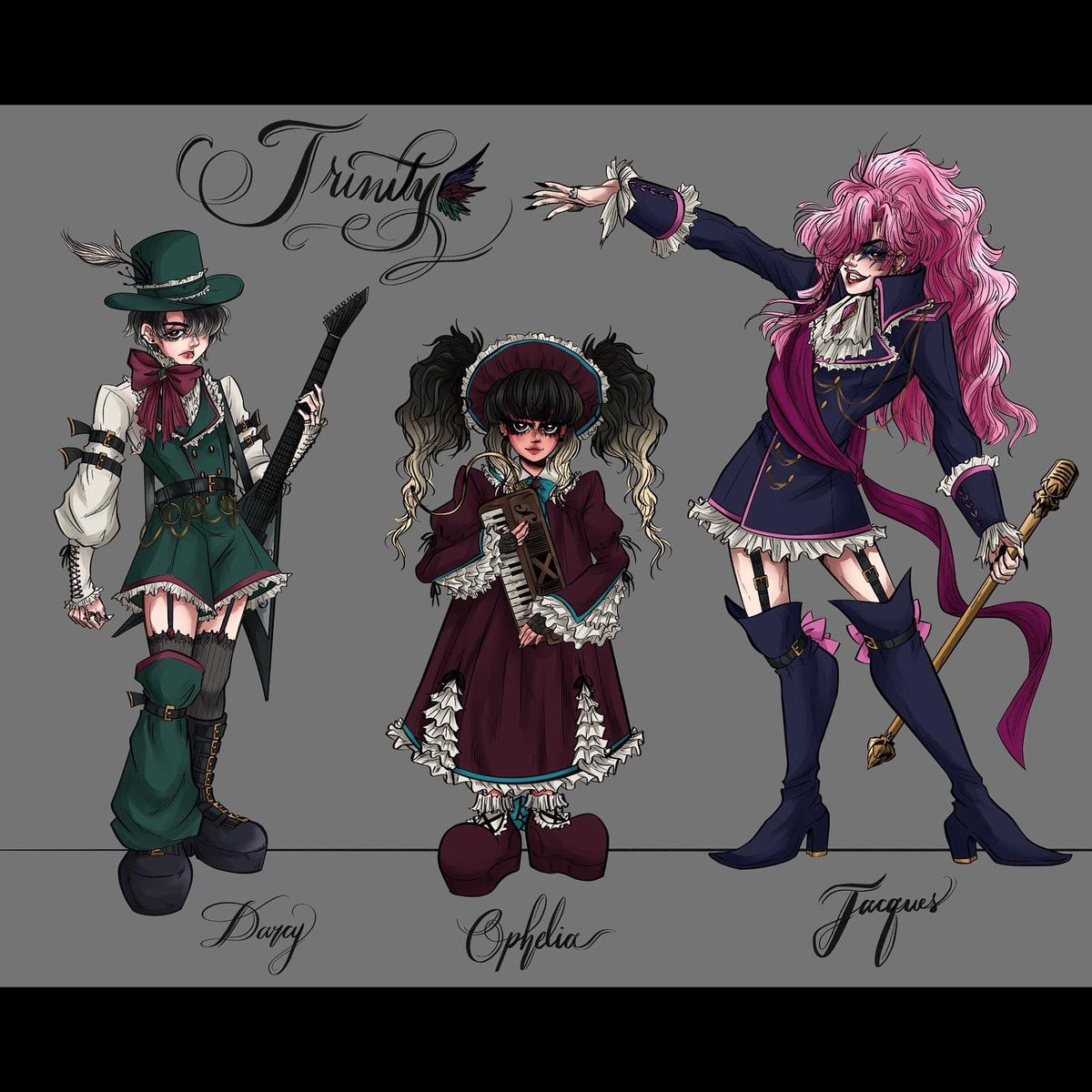 Anime characters kei visual Visual Prison