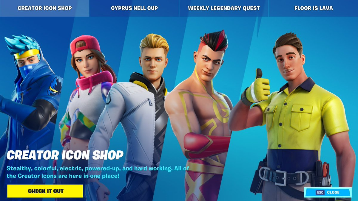 everyones skins look so cool then theres ol mate lazarbeam looking like a dumbass hahahha https://t.co/tjYMzW8N1U
