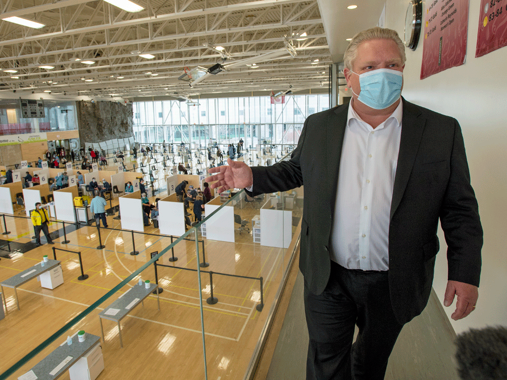 Denley Doug Ford's flawed COVID performance has become a ticket to political popularity