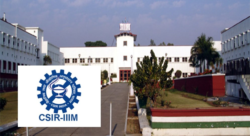 Sr. Research Associate Position at CSIR-IIIM J&K, India – 22 March 2021