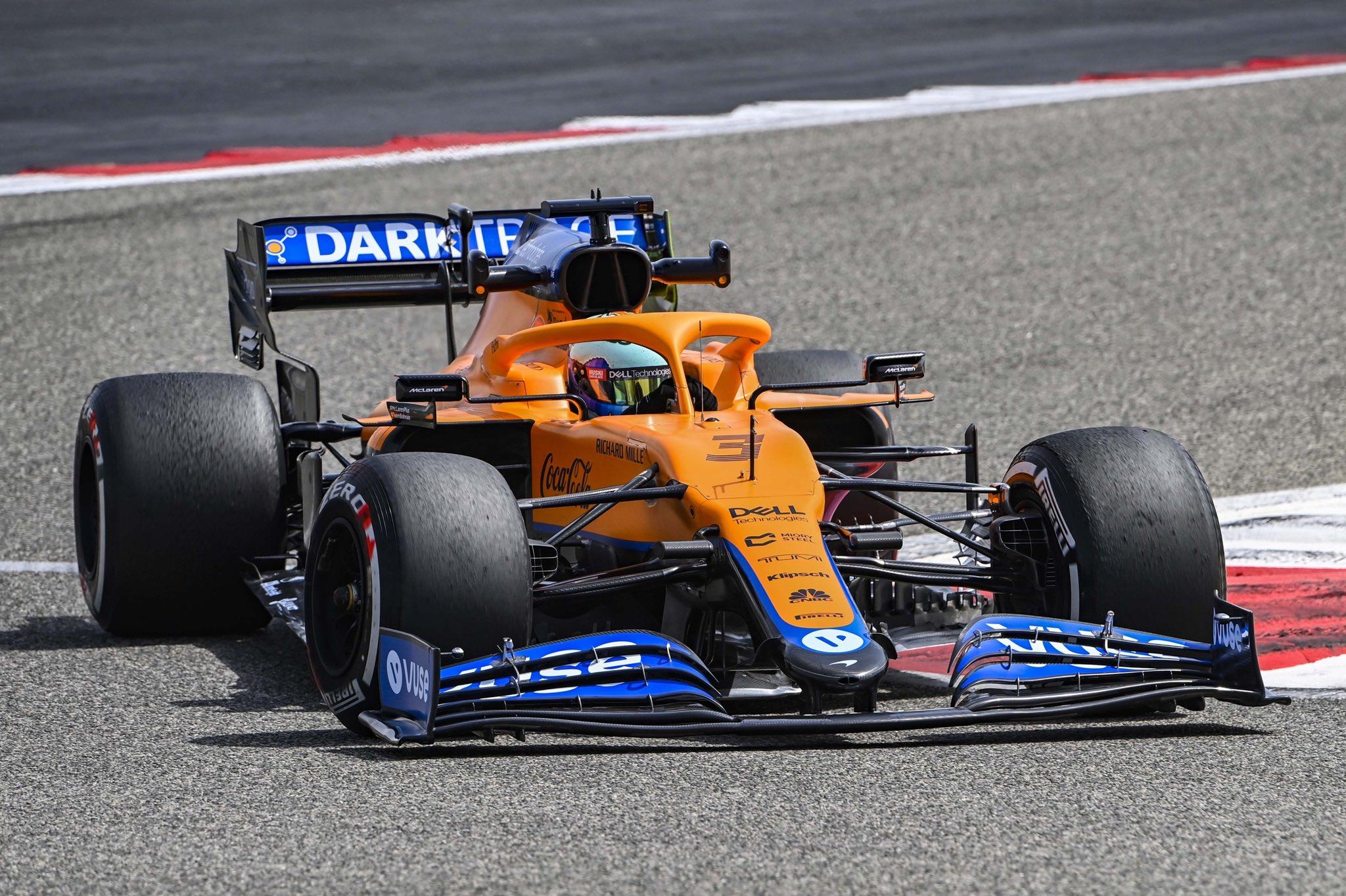 McLaren MCL35M, Daniel Ricciardo