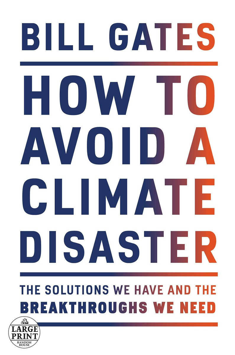 """What a great read @BillGates I really enjoyed your book:  """"How to Avoid Climate Disaster""""  Bill, I'm glad that you are pushing the trial of """"vegan"""" burgers. The only thing we disagree on is that they actually do taste great!   The book with my notes: https://t.co/SzOBCJUqcm https://t.co/N13Kb0hMrc"""