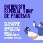 Image for the Tweet beginning: ESPECIAL 1 ANY DE PANDÈMIA.