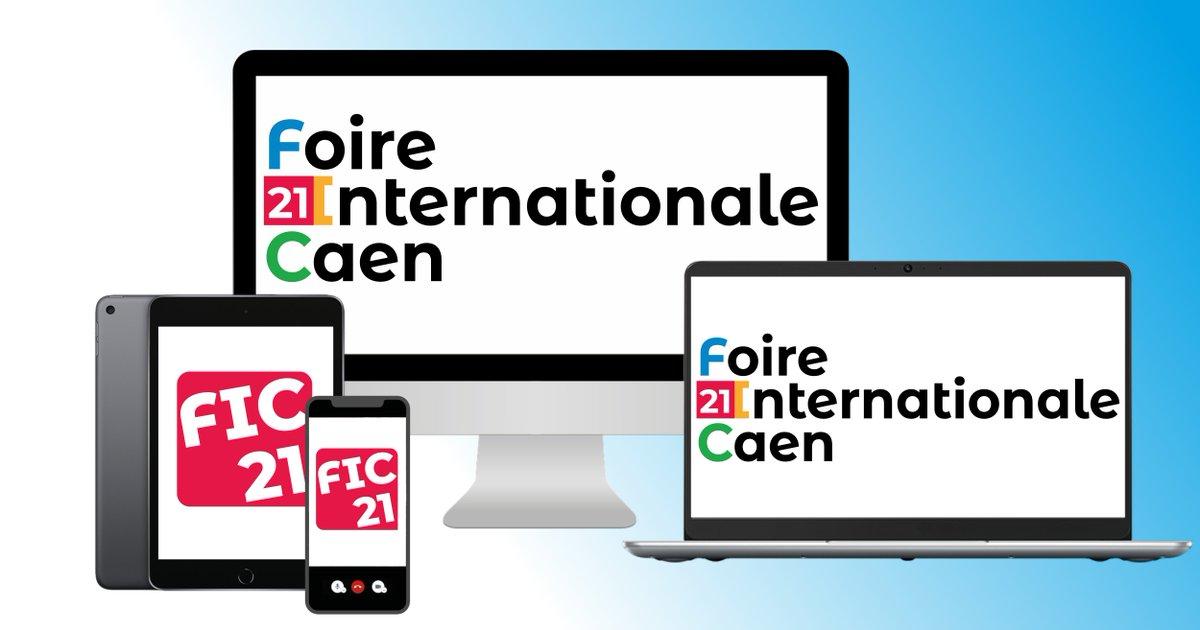 [ #FIC2021 ]  La #FoiredeCaen est heureuse de vous dévoiler sa nouvelle identité graphique ... 😍😍  #new #logo #identité #FoiredeCaen #FIC2021 #events https://t.co/PtqMHOkwMB