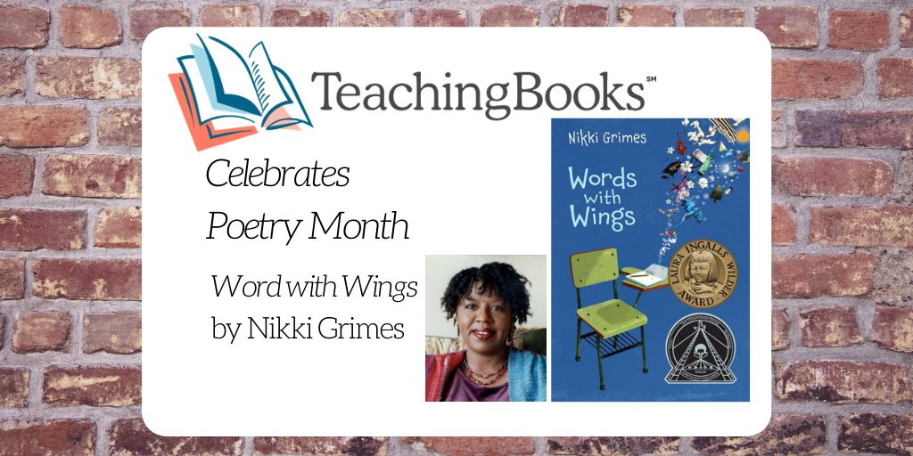 test Twitter Media - Listen to Words with Wings by Nikki Grimes https://t.co/f4Rf6KpFyX  @KanePress @nikkigrimes9 #Kidlit https://t.co/QsibWPaLwJ