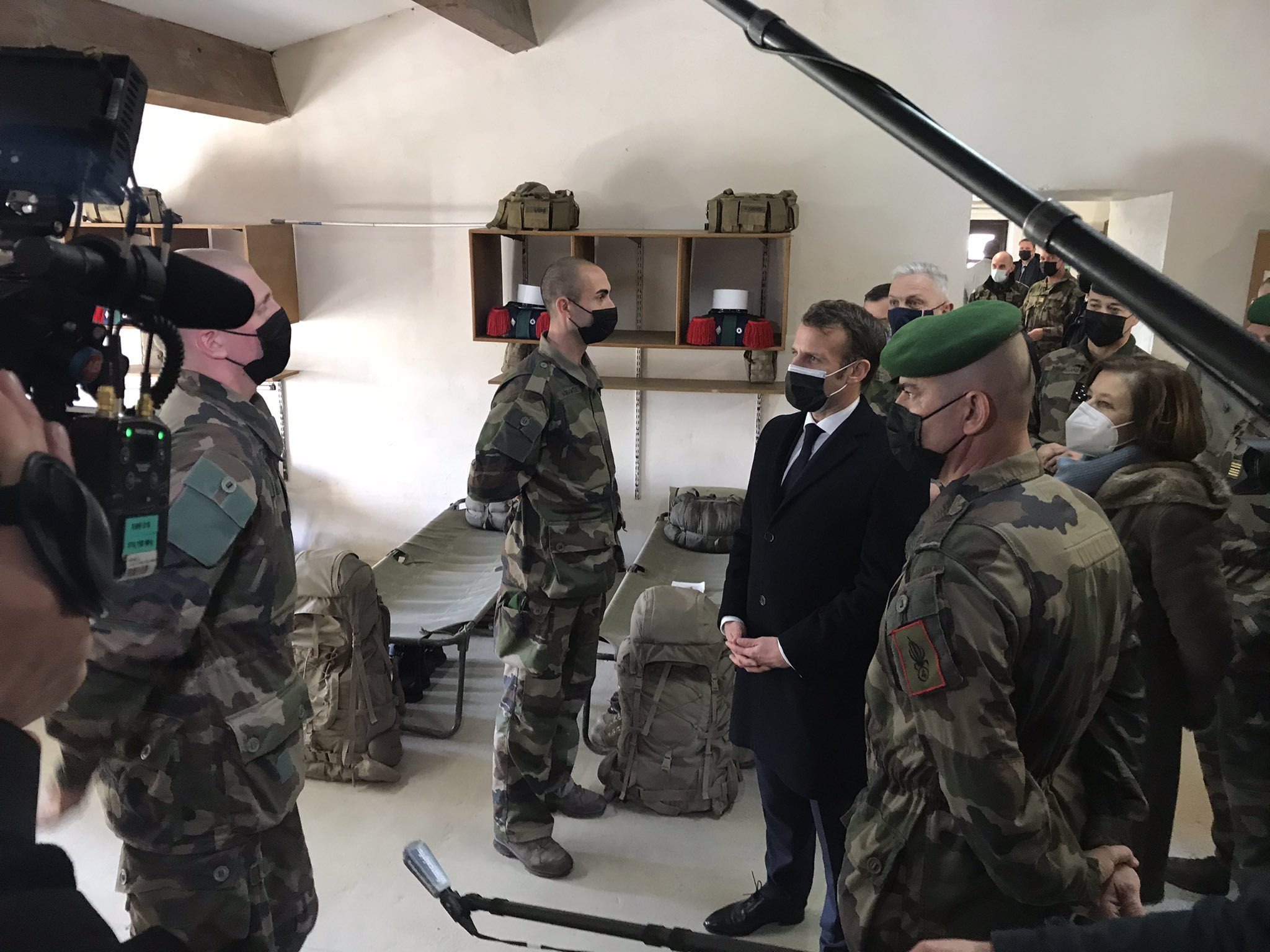4e RE: 2021 Visit from President Macron