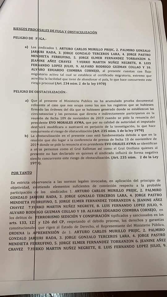 2019 Bolivian political crisis - Page 4 EwTCI_zWYAMLTbH?format=jpg&name=medium