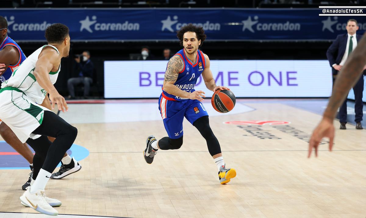 EuroLeague – Tutto facile per l'Efes alla settima vittoria di fila, Zalgiris Kaunas ko