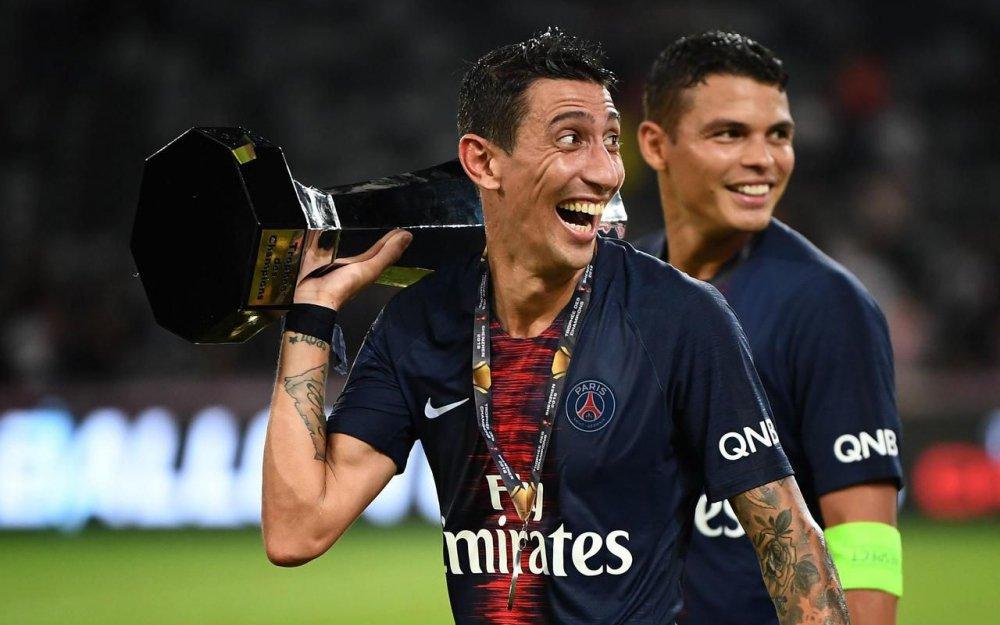 بطولات دي ماريا مع باريس:  الدوري الفرنسي