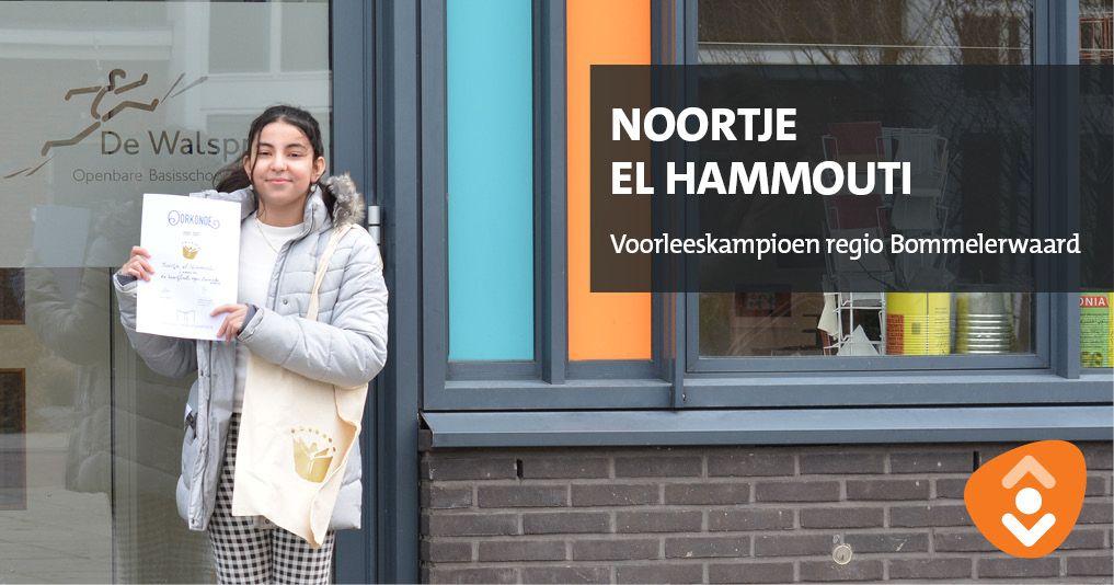 test Twitter Media - Wij zijn supertrots op Noortje el Hammouti uit groep 8. Zij won de finale van de Nationale Voorleeswedstrijd regio Bommelerwaard. Ze las een fragment voor uit het boek Verlangen van de prins. Je bent onze voorleeskanjer, Noortje. https://t.co/Gr4o95Jkpo
