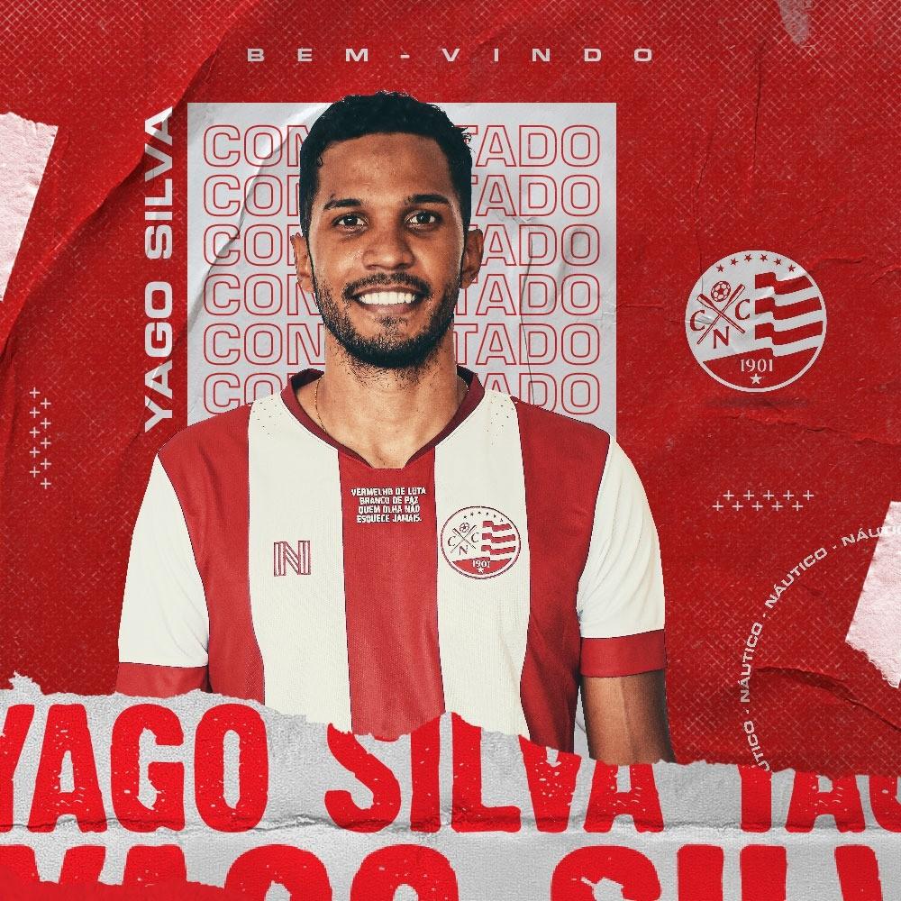Náutico anuncia Yago, ex-Corinthians, como seu novo zagueiro. (Foto: Reprodução/Náutico)