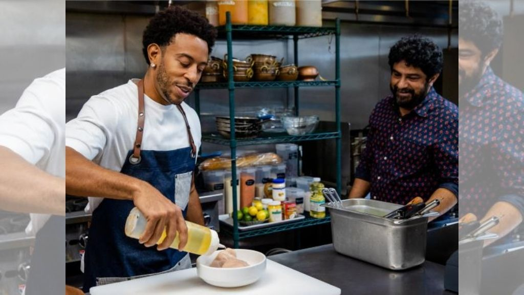 WATCH Ludacris 'throw down' in the kitchen #ludacantcook