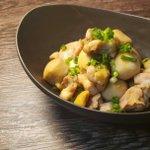 電子レンジで簡単調理!鶏肉と里芋の煮っころがしの作り方!