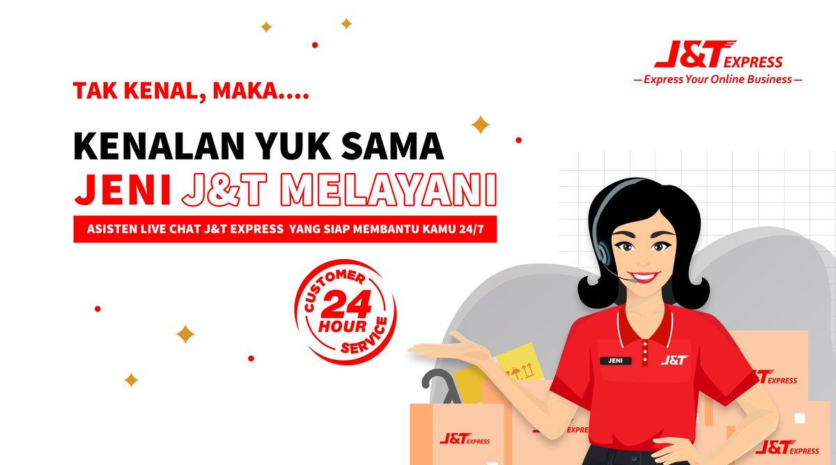 J T Express Indonesia On Twitter Hi Jnt Friends Kenalin Ini Jeni J T Melayani Asisten Live Chat Whatsapp Official J T Express Yang Akan Selalu Responsive 24 Jam Dalam Menjawab Seluruh Informasi Terkait Informasi