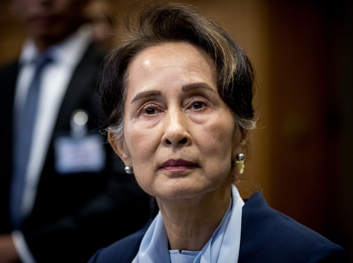 The US government is working with all the more urgency to contact Aung San Suu Kyi and other civilian detainees in Myanmar after two officials from her National League for Democracy party died in military custody over the past week. https://t.co/JxT6WsKLp9 https://t.co/HzirzKPBSR