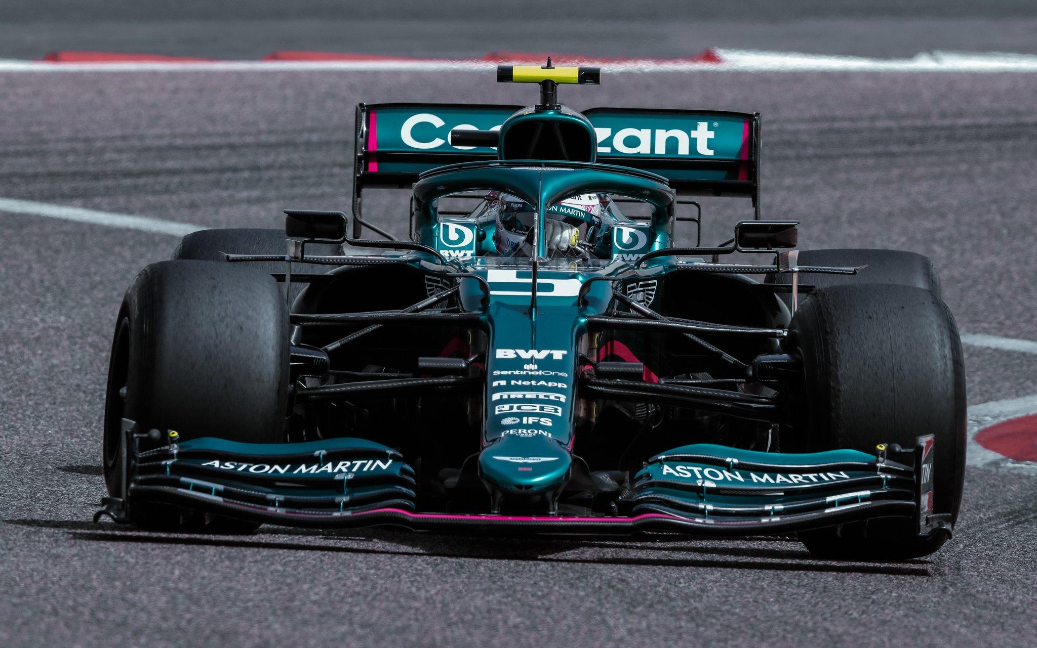 Vettel ha perso molto tempo