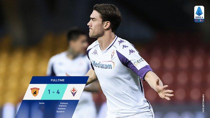 Skor akhir Benevento 1-4 Fiorentina