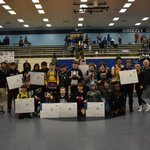 Image for the Tweet beginning: Congratulations to our wrestlers who