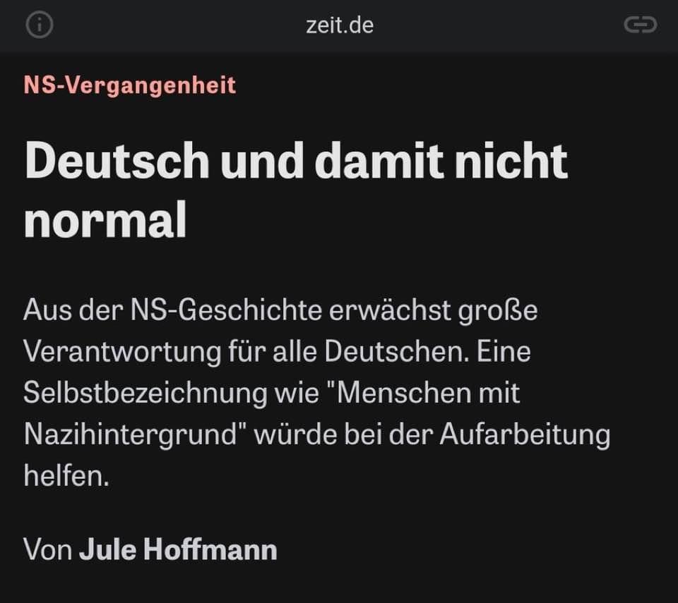 """Anabel's tweet - """"""""Menschen mit Nazihintergrund"""" Alles klar. """" - Trendsmap"""
